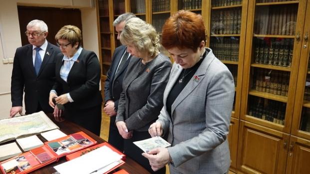 В Президентской библиотеке 6 февраля 2020 года